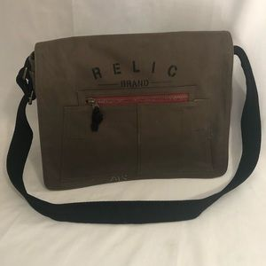 New Relic Military Canvas Bag Purse Messenger